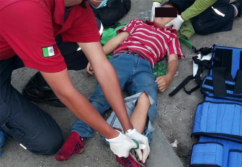 Motociclista atropella a menor de edad cerca del IEEPO | El Imparcial de Oaxaca