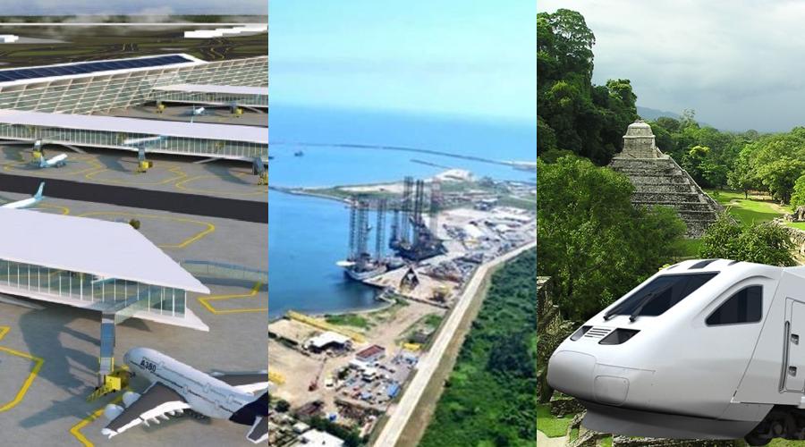 Tren Maya, Aeropuerto de Santa Lucía y Refinería Dos Bocas, las obras de infraestructura para este 2019 | El Imparcial de Oaxaca
