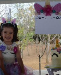 Mia Valentina celebró su cumpleaños número cinco