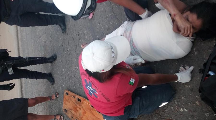 Taxi foráneo atropella a mujer en Xoxocotlán | El Imparcial de Oaxaca
