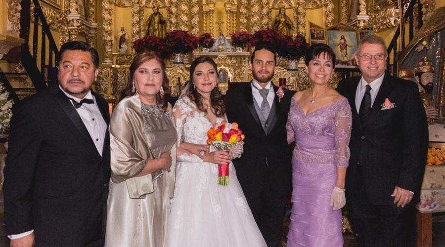 Susy y Miguel se casan