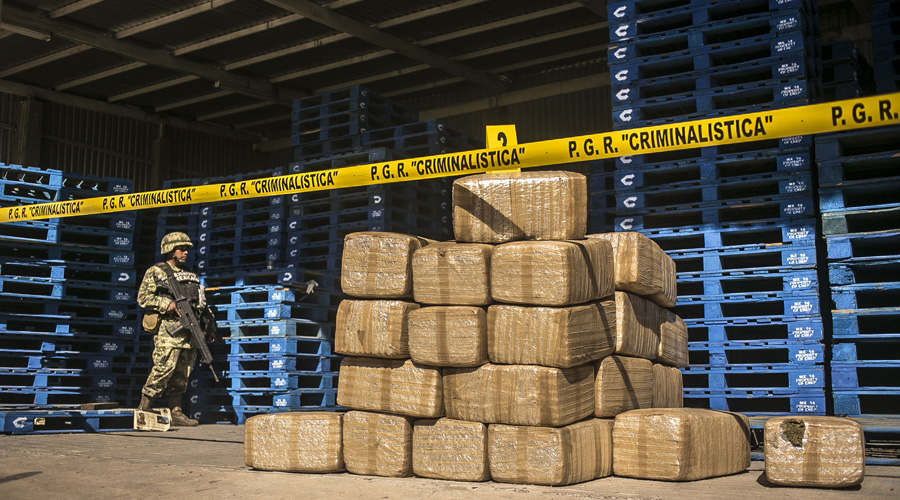 Decomisos de droga disminuyeron el primer mes del año | El Imparcial de Oaxaca