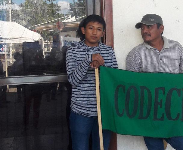 Codeci bloquea  Tribunal Agrario