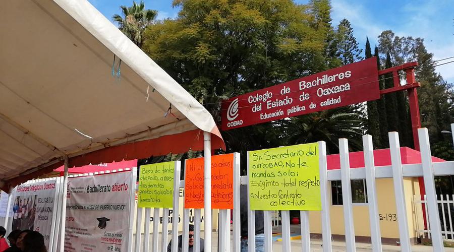 Se normalizan actividades en los planteles del Cobao | El Imparcial de Oaxaca