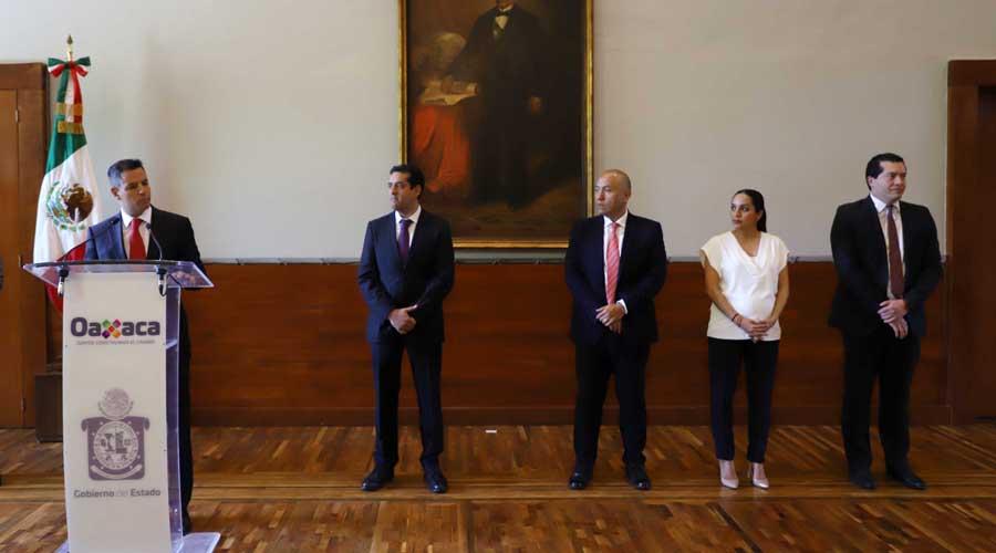 Realiza Alejandro Murat cambios en su gabinete | El Imparcial de Oaxaca
