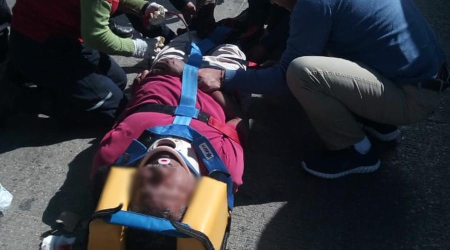 Motociclista atropella a hombre de la tercera edad en San Sebastian Tutla | El Imparcial de Oaxaca