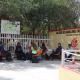 En la Mixteca protestan Cobaos por el cambio de concepto en pagos