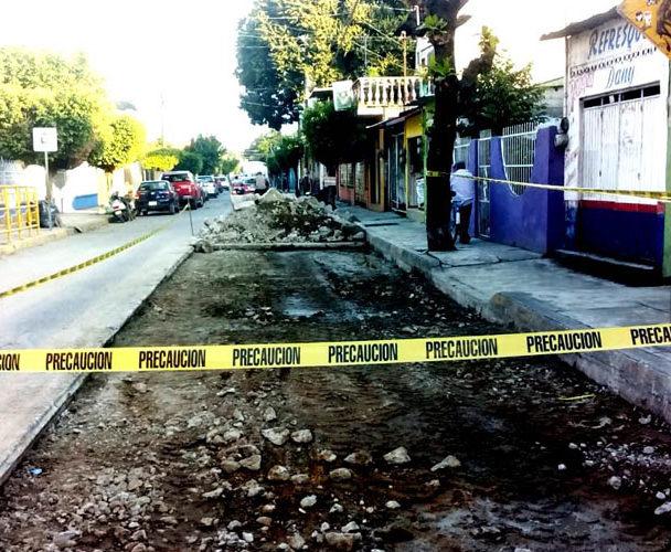 """En reparación el pozo  """"El trópico"""" de Tuxtepec"""