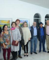 Flor Coronado expone sus obras
