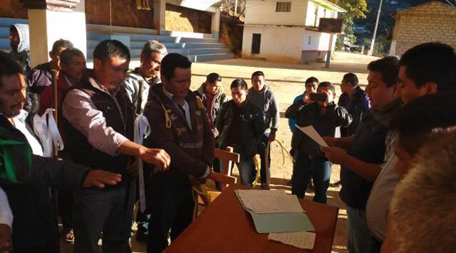 Realizan en calma elecciones en San Martín Toxpalan | El Imparcial de Oaxaca