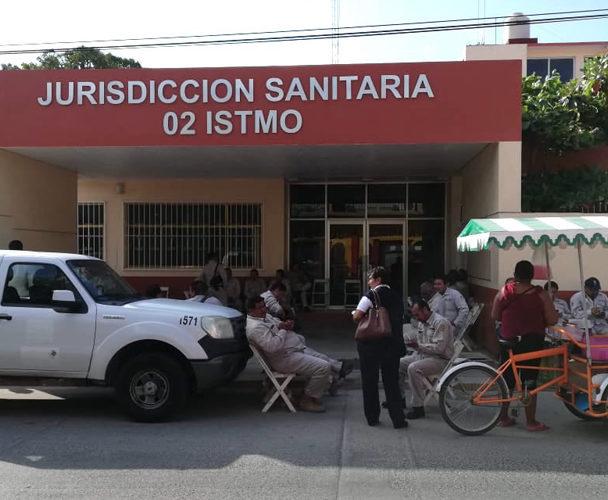 Toman instalaciones de la  Jurisdicción Sanitaria 02