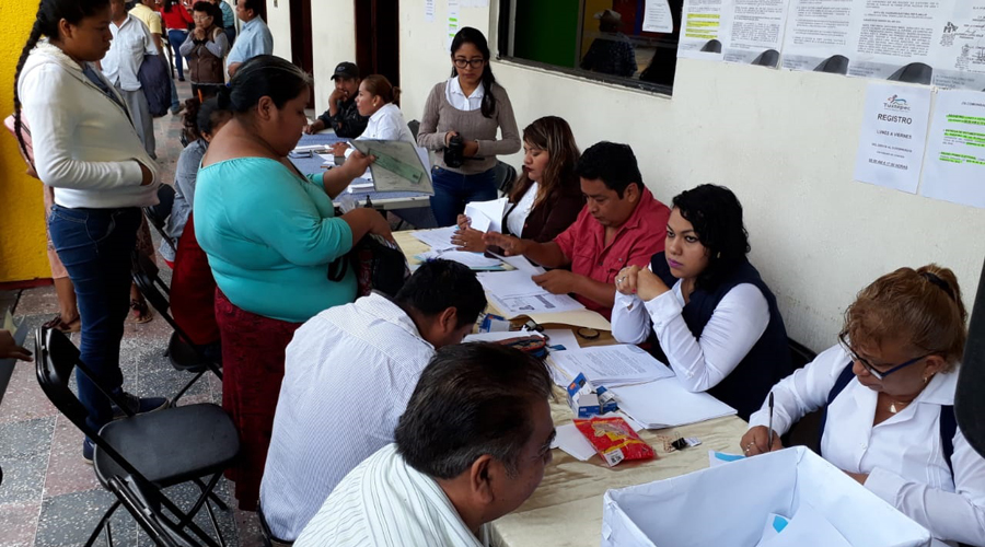 Tuxtepec inicia registro para agentes municipales y policías | El Imparcial de Oaxaca