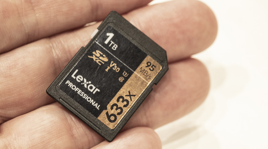 Lexar presenta la primera tarjeta SD comercial de 1TB | El Imparcial de Oaxaca