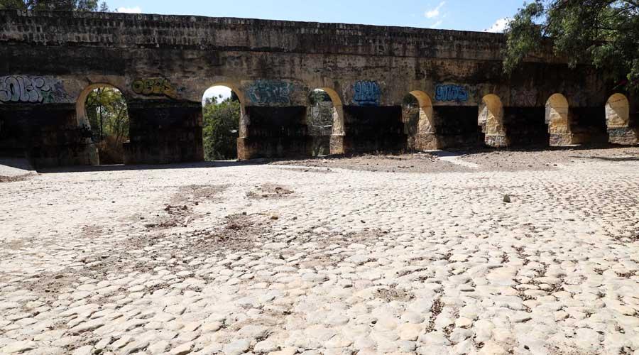 Urge cuidar y conservar el acueducto de Oaxaca