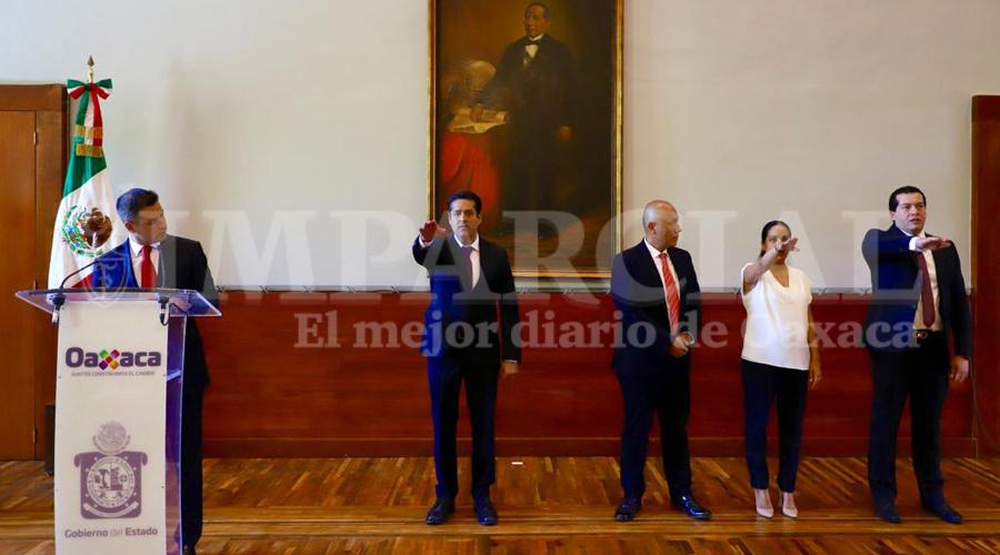 Nombra Murat nuevos secretarios de Finanzas, Movilidad y jefe de Gubernatura | El Imparcial de Oaxaca