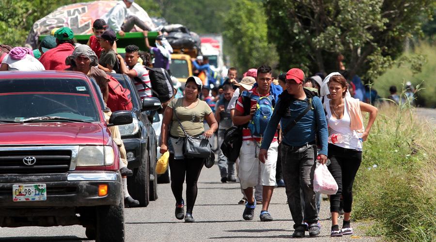 Gobierno de Honduras cierra frontera para evitar paso de nueva Caravana Migrante | El Imparcial de Oaxaca