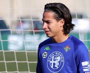 Presentan oficialmente a Diego Lainez como nuevo jugador del Betis