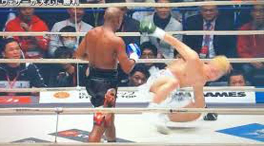 Video: Mayweather se ríe al 'destruir' a su rival sin experiencia en boxeo y baila tras noquearlo | El Imparcial de Oaxaca