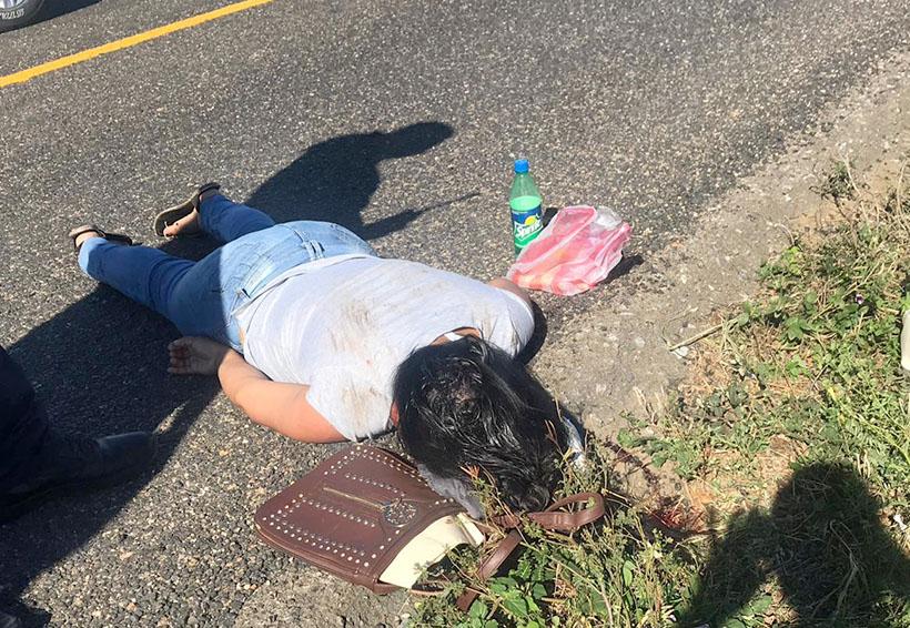 Muere mujer que se aventó de camión para evitar ser asaltada | El Imparcial de Oaxaca