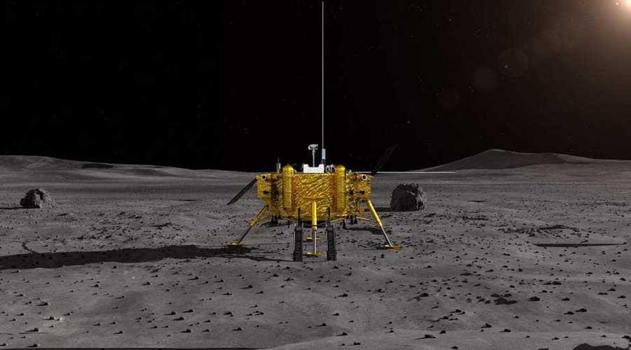 Sonda china Chang'e-4 aluniza con éxito el lado oscuro de nuestro satélite | El Imparcial de Oaxaca