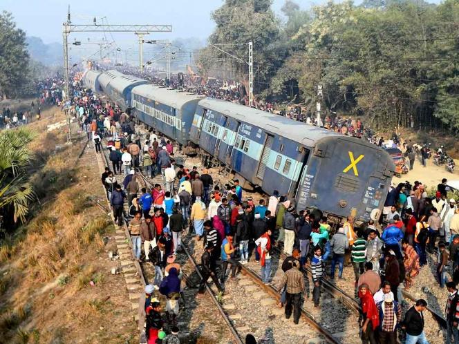 India: al menos 7 muertos por tren descarrilado | El Imparcial de Oaxaca