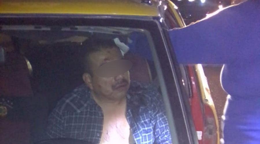 Machetean a taxista en el fraccionamiento La Cascada
