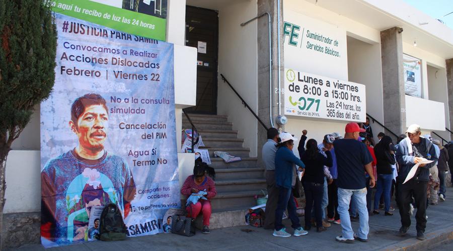 Exigen justicia para el activista Samir | El Imparcial de Oaxaca