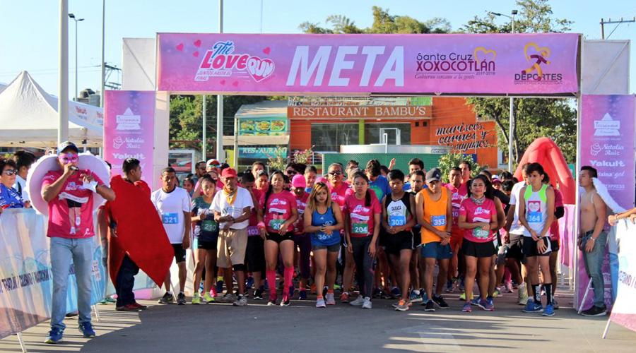"Alistan la carrera ""Love Race"" de 5 km   El Imparcial de Oaxaca"