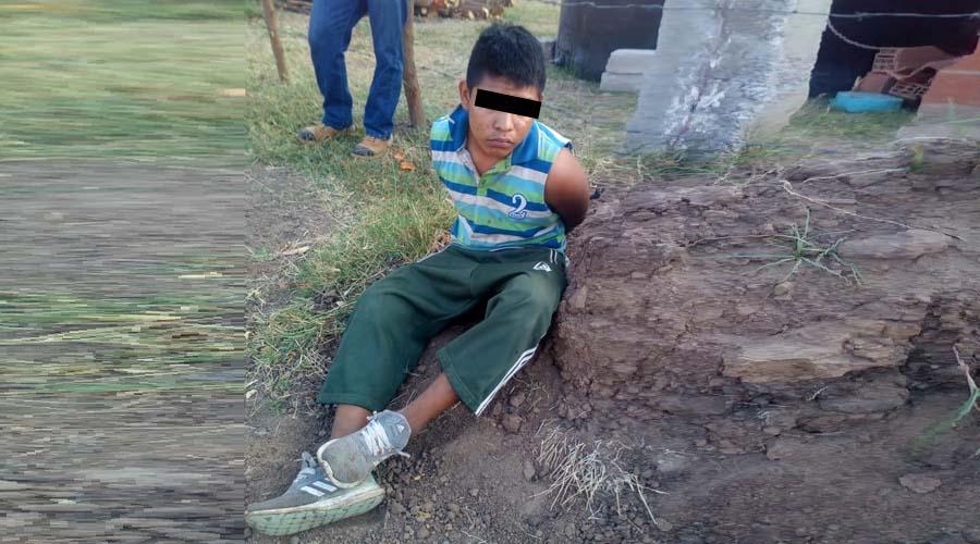 Amarran a joven acusado de robo a casa en Juchitán | El Imparcial de Oaxaca