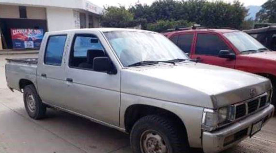Aseguran en Putla camioneta con anomalías en su numeración | El Imparcial de Oaxaca