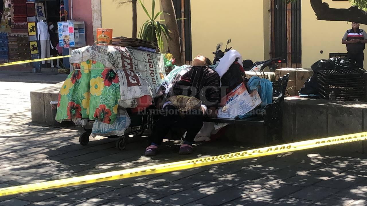 Muere mujer por presunto infarto en el jardín Labastida | El Imparcial de Oaxaca