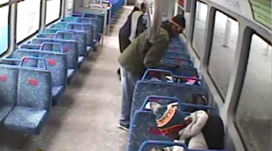 Padre vivió momentos de angustia al perder a su bebé en tren