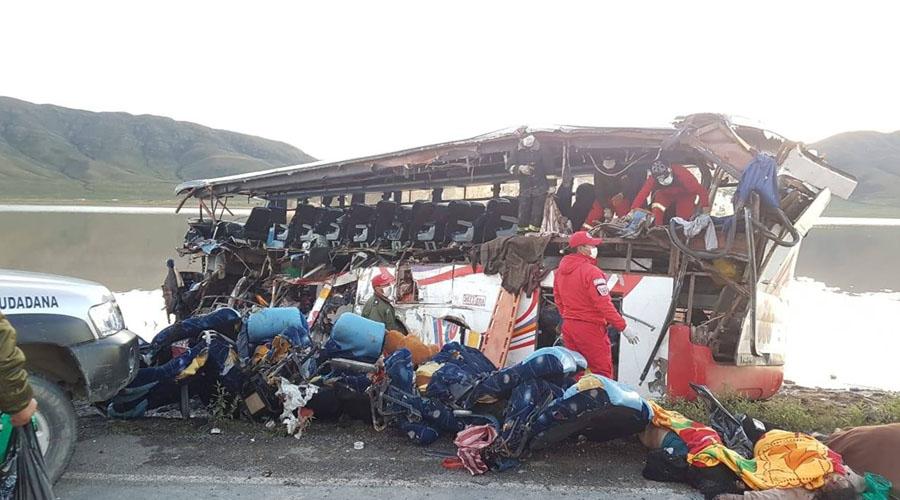 Accidente carretero deja 24 muertos y 12 heridos en Bolivia   El Imparcial de Oaxaca