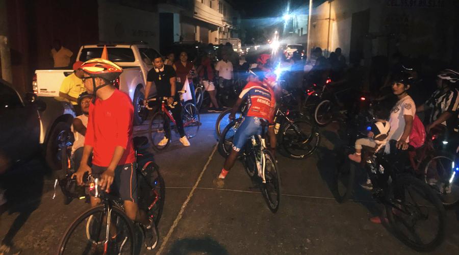 Ciclistas de Juchitán piden respeto | El Imparcial de Oaxaca