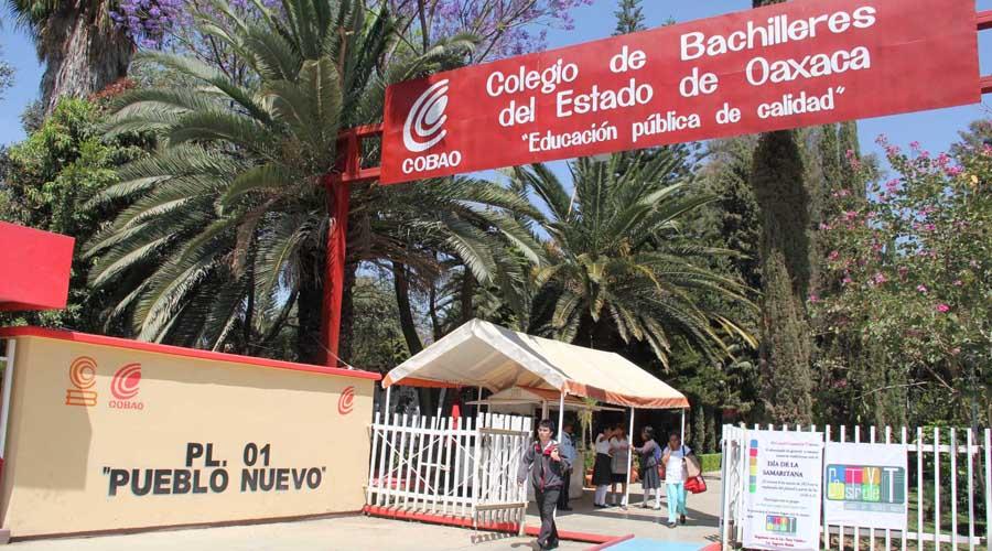 Inicia paro de dos días en Cobao por recorte presupuestal | El Imparcial de Oaxaca