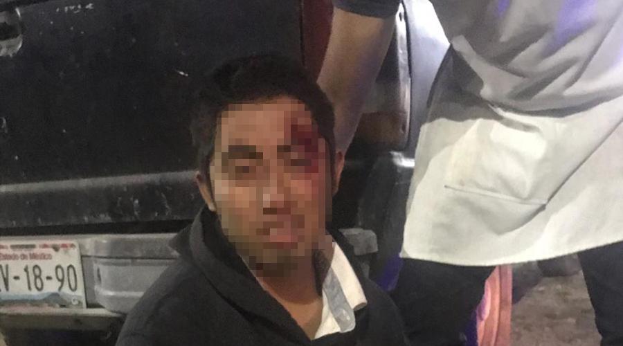 Se lesiona joven al derrapar motocicleta en riberas | El Imparcial de Oaxaca
