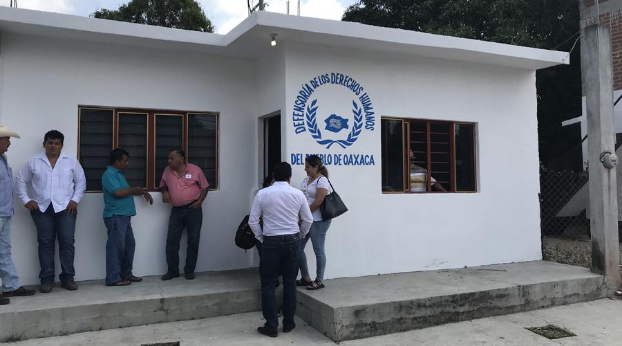 Inauguran oficinas de la DDHPO en Juchitán | El Imparcial de Oaxaca