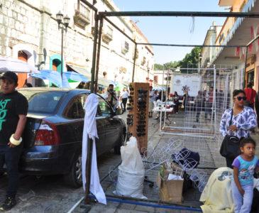 Aumenta 200% el ambulantaje en la ciudad de Oaxaca