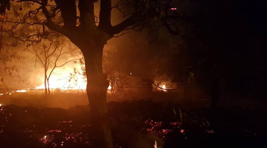 Incendio causa pánico en Salina Cruz | El Imparcial de Oaxaca