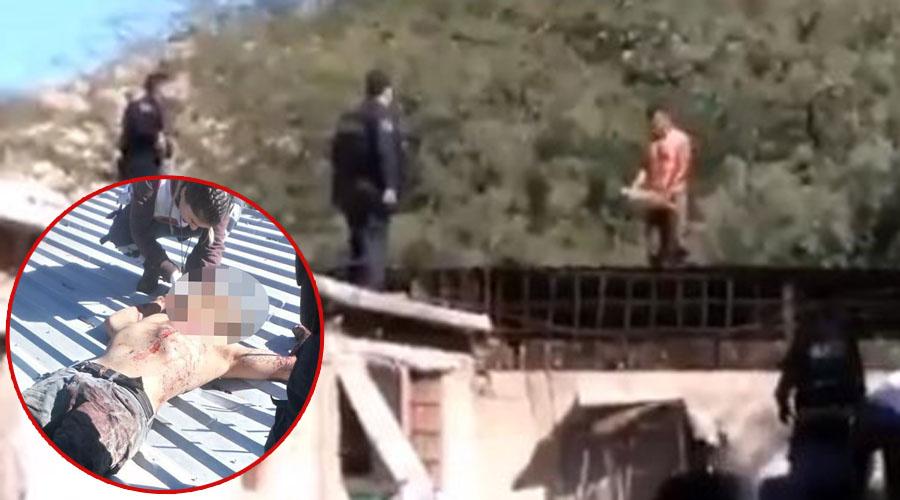 Video: Policías ejecutan a balazos a hombre que pretendía suicidarse   El Imparcial de Oaxaca