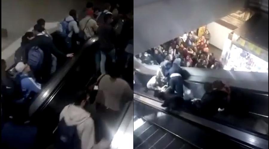 Video: Colapsan escaleras eléctricas en Metro Tacubaya | El Imparcial de Oaxaca