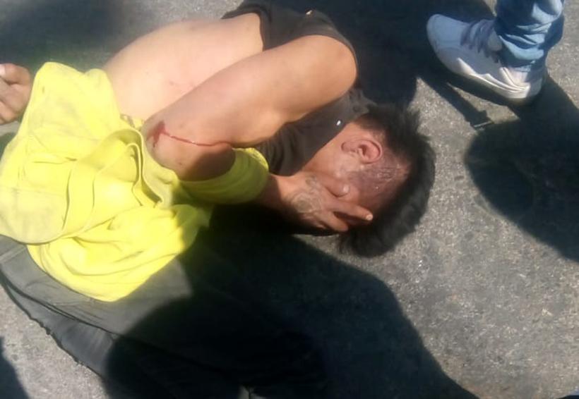 Golpean y exhiben a presunto ladrón en Oaxaca | El Imparcial de Oaxaca