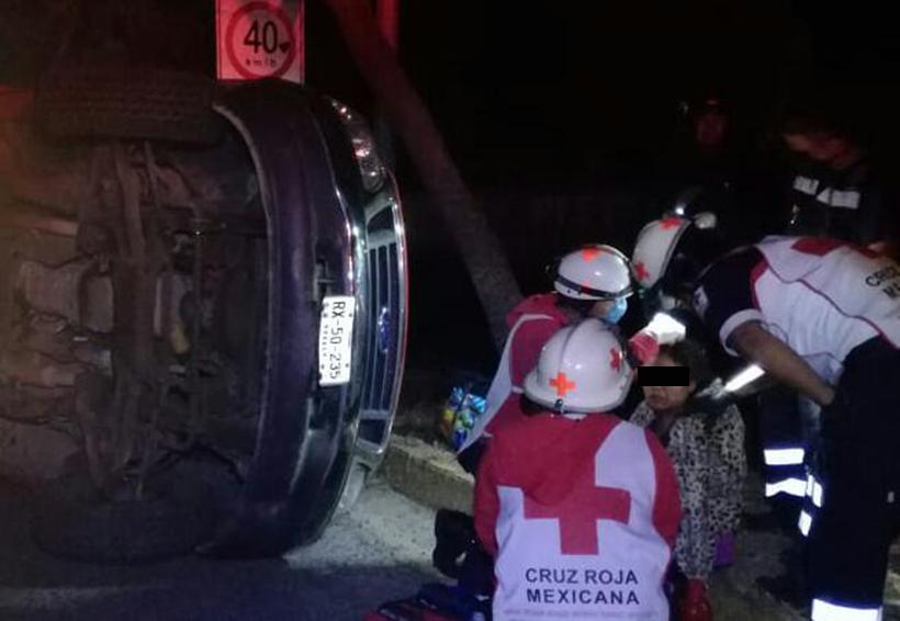 Vuelca camioneta en la 175 por exceso de velocidad | El Imparcial de Oaxaca