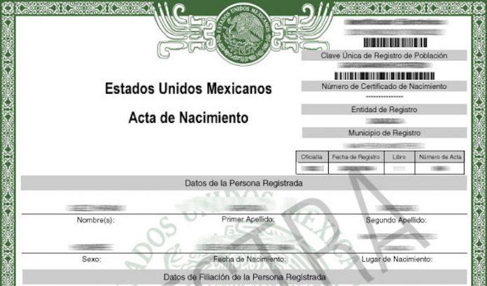 Sube 11.49% costo de acta de nacimiento en Oaxaca en dos años. Noticias en tiempo real
