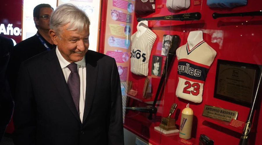Inaugura AMLO Salón de la Fama del Beisbol Mexicano | El Imparcial de Oaxaca