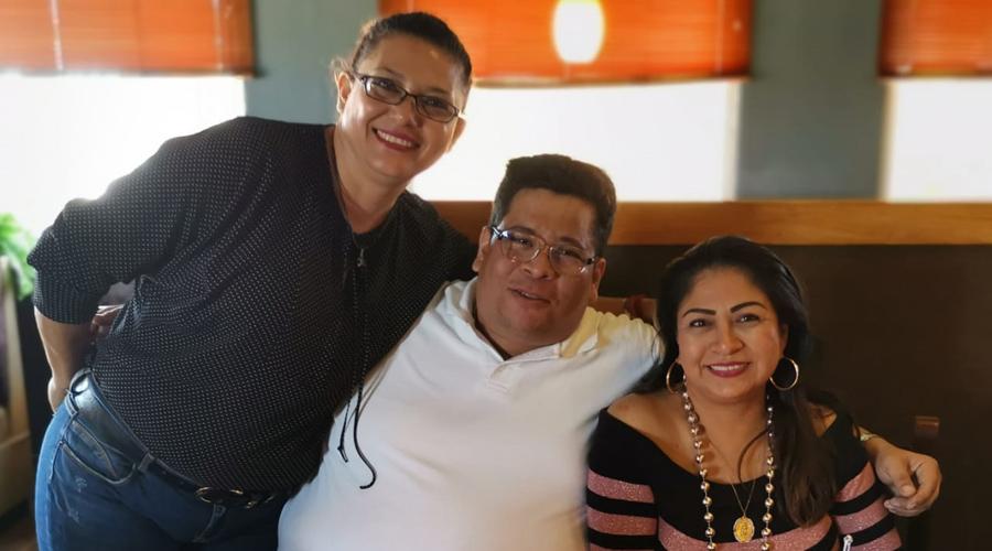 ¡Feliz cumpleaños para Guadalupe  y David!