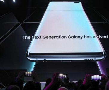 Samsung presenta el Galaxy S10 y el S10 Plus