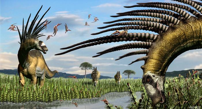 Descubren en Argentina una nueva especie de dinosaurio con espinas en el cuello y espalda | El Imparcial de Oaxaca