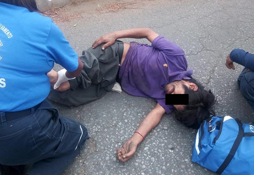 Taxista atropella a peatón en la colonia Reforma, Oaxaca | El Imparcial de Oaxaca