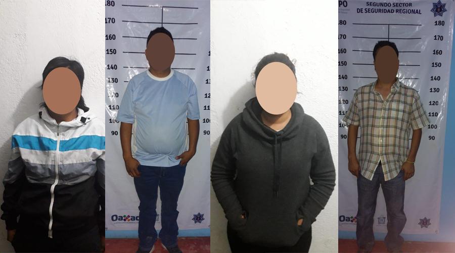 Policía Estatal rescata a 13 migrantes en la Cañada
